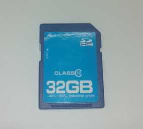 Cartão De Memória Sd Hc 32gb - Classe 10 - Uso Profissional