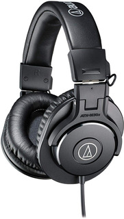 Audífonos Audio-technica Ath-m30x Profesionales Negro