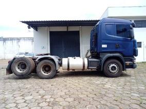 Scania R 124 420 6x2 Ano 2005/2005 Único Dono 5 Unidades