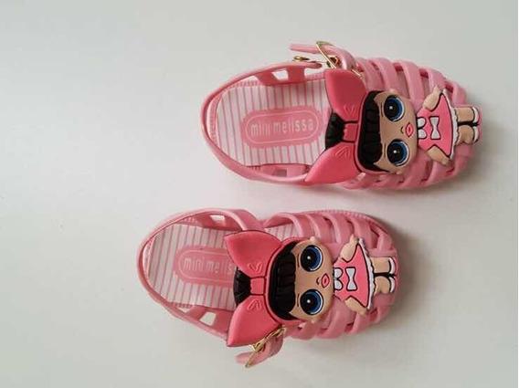 Sandália Mini Melissa Lol Infantil