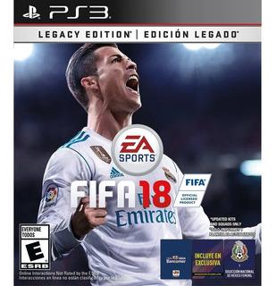 Fifa 18 Formato Digital Ps3 Legacy Edition Latinoamericano