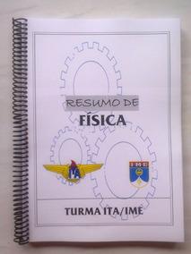 Ita / Ime Apostila Ari De Sá - Resumo De Física