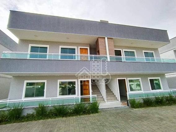 Apartamento Com 2 Dormitórios À Venda, 60 M² Por R$ 185.000,00 - Chácaras De Inoã (inoã) - Maricá/rj - Ap3474