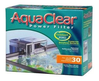 Filtro Cascada Aquaclear 30 Para Acuarios De 38 A 114 Litros