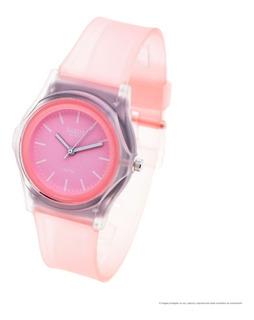 Reloj Dakot Niña 193 - Caucho Sumergible Malla Transparente