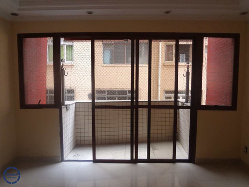 Apartamento Com 3 Dorms, Centro, São Vicente - R$ 420 Mil, Cod: 15785 - V15785