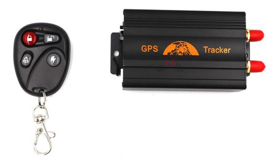 Rastreador Gps Bloqueador Veicular Tk-103b Controle Coban