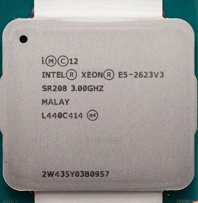Processador Xeon E5-2623 V3 T430 10m 3.00ghz Fclga2011-3