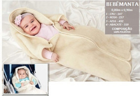 Bebê Manta Saco De Dormir Cobertor Infantil - Anti Alérgico