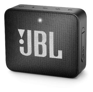 Parlante Portable Jbl Go2 Bluetooth Negro Resistente Al Agua