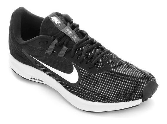 Tênis Nike Downshifter 9 Masculino Preto E Branco