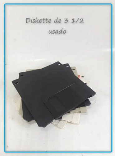 Imagen 1 de 1 de Kit De 3 Diskette De  3 1/2 Usados