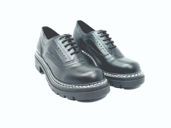 Zapatos Acordonado Moda Dama 2019 Savage Ms 61 ( 18 Cuotas)