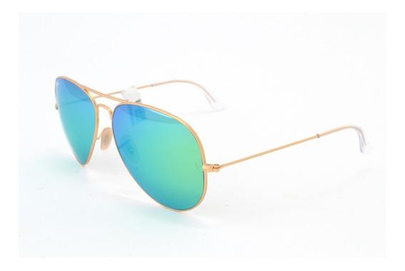 Óculos De Sol Ray Ban Aviador Rb3025 112/19 Metal Unissex