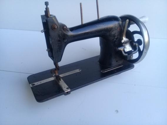 Maquina De Costura Antiga Raridade Peça Para Decoração