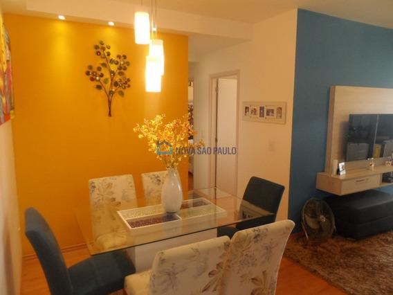 Apartamento Com Varanda Gourmet Próximo Do Metrô Sacomã E Alto Do Ipiranga. - Bi26664