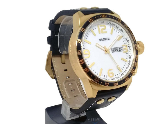 Relógio Magnum Masculino Analógico Grande Militar Ma31542b