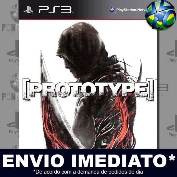 Prototype Ps3 Psn Jogo Em Promoção A Pronta Entrega Play 3