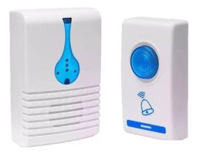 Campainha Sem Fio 100 Metros 32 Toques Led Wireless