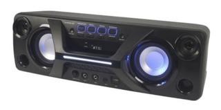 Parlante Bluetooth Portatil Winco W248 Microfono Fm Usb Led