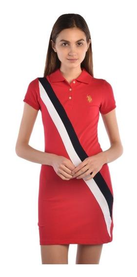Vestido U.s. Polo Multicolor Usldl432636 Dama