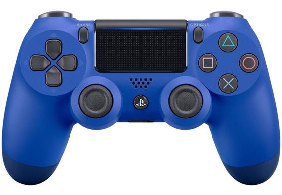 Controle joystick Sony Dualshock 4 wave blue