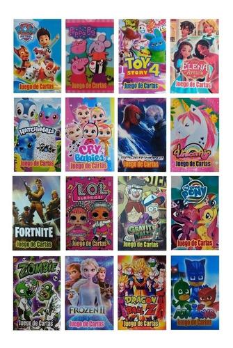 Juego De Cartas Naipes Infantil Pack X 50 Mazos Diverti Toys
