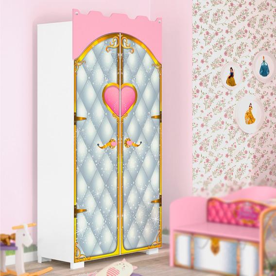 Guarda Roupa Infantil 2 Portas Pura Magia Premium Castelo