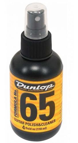Limpador Polidor Dunlop Formula 65 Guitarra/baixo 654si