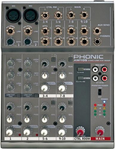 Consola Phonic Am105 Oferta Usada De Exhibicion
