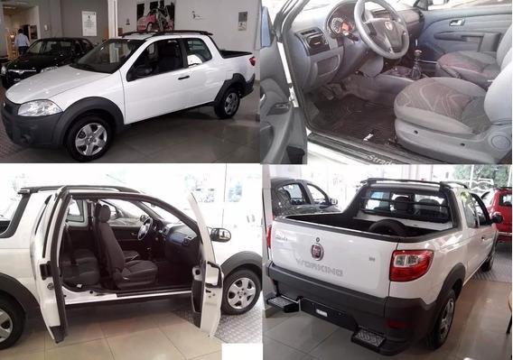 Fiat Strada 0km Entrega Tu Usado O 45mil Y Cuotas!!! V