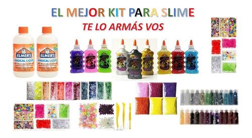 El Mejor Kit Slime Elmers Lo Armás Vos Con Piel De Sirena