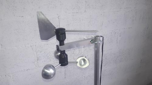 Anemômetro Mini C/ Velocímetro  +  Biruta Decorativo