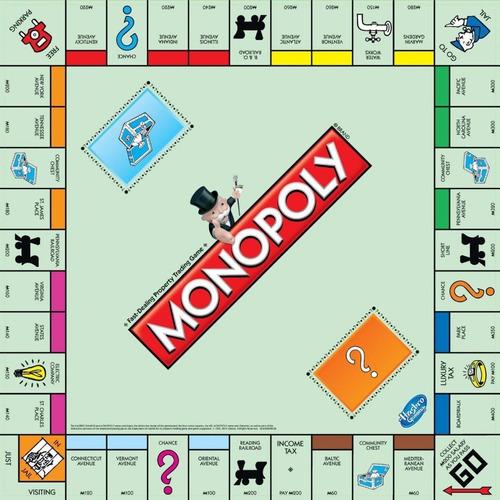 Juego Mesa Monopoly Clásico Hasbro Original - Juego Familiar