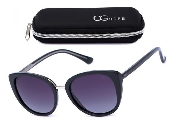 Oculos Ogrife Solar Og 1211-c Feminino Polarizado Original