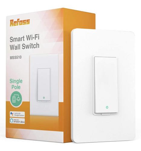 Smart Wi-fi Interruptor De Pared Inteligente