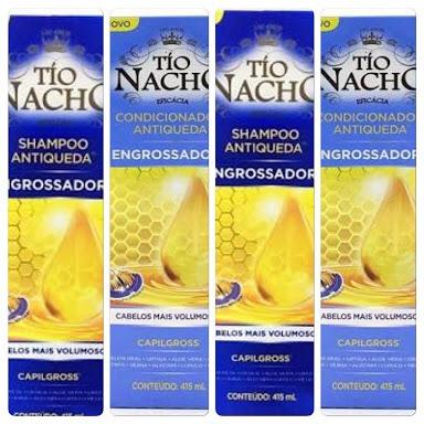 Tio Nacho Engrossador 2 Shampoo + 2 Condicionador