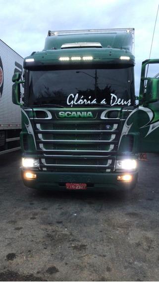 Scania R124 + Carreta Rodofort 30 Palet