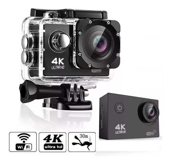 Câmera De Ação Go Action Cam Pro 4k Sports Ultra-hd Wi-fi