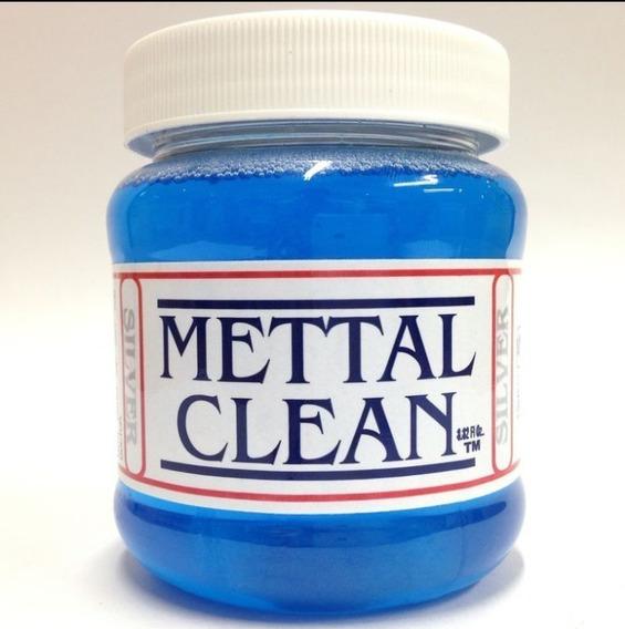 Liquido Limpiador De Plata Mettal Clean Silver