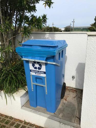 Imagem 1 de 5 de Kit Ferro Para Proteção De Contêiner De Lixo.