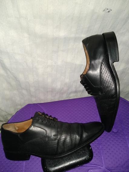 Zapatos Bruno Ferrini Usados Talla 45 Originales Cuero