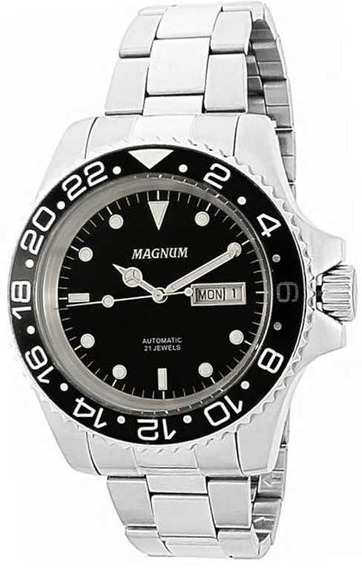 Relógio Magnum Masculino Automático Ma33844t