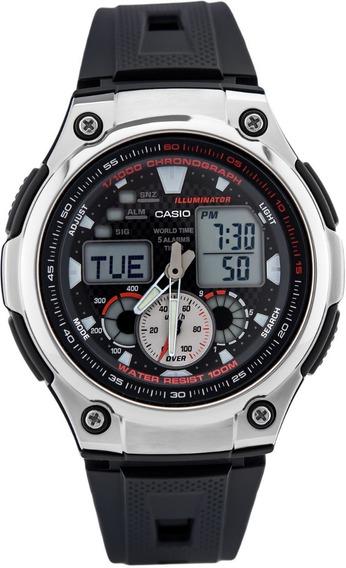 Relógio Analógico/digital Casio Aq-190w-1avd Masculino