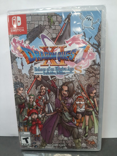 Dragon Quest Xi S:echoes Of An Elusive Age Definitive Editio