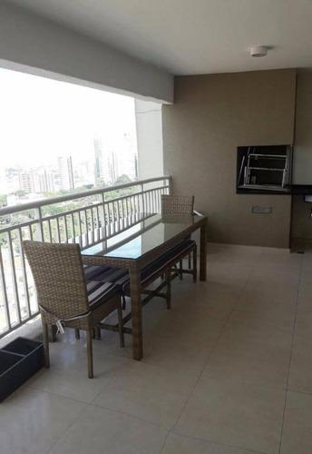 Apartamento Residencial À Venda, Varanda Gourmet, Tatuapé, São Paulo. - Ap5487