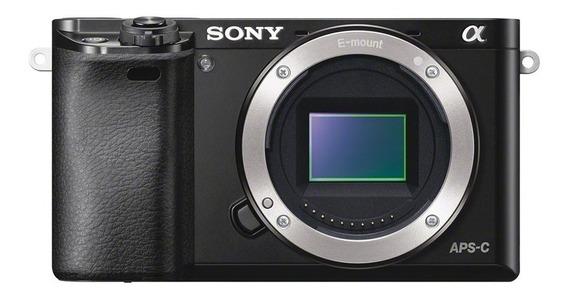 Câmera Mirrorless Sony Alpha A6000 Corpo Nota Fiscal