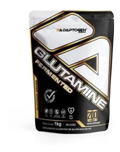 Imagem 1 de 2 de Glutamine Platinum Refil (1kg) - Adaptogen