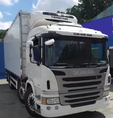 Scania P310 Bitruck Baú Refrigerado