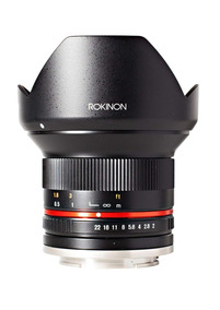 Lente Rokinon 12mm F2.0 Ncs Cs Sony E-mount (nex) (preta)